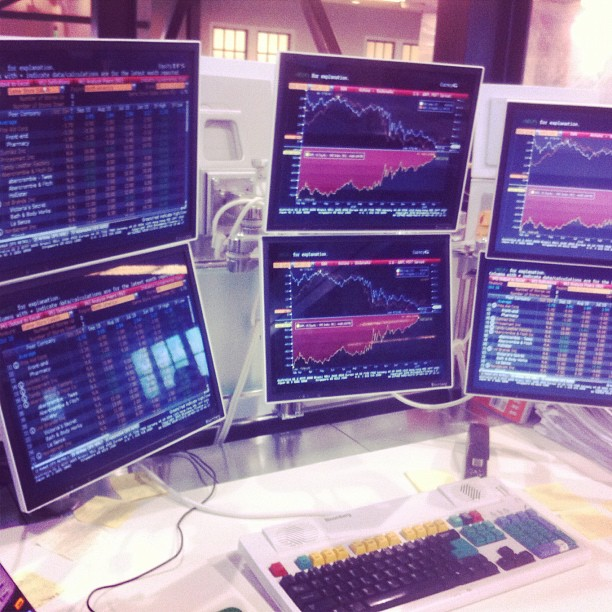 Bloomberg Terminals