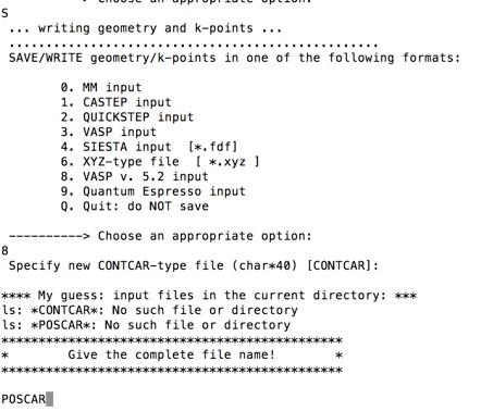 Translation Of Siesta Pseudopotential To Vasp Format