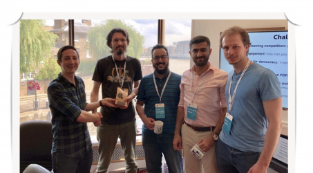 Congratulations to Mohamed Ali for winning Machine Learning competition at PyData2019