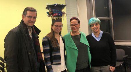 Irene Marzuoli successfully defended her PhD thesis