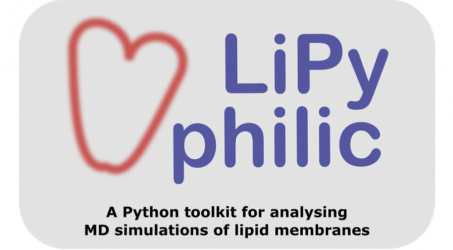 """New Paper: """"LiPyphilic: A Python toolkit for the analysis of lipid membrane simulations"""""""